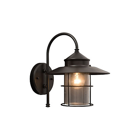 Vincent black mains powered external wall lantern departments vincent black mains powered external wall lantern mozeypictures Choice Image