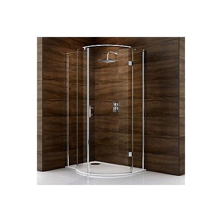 Cooke & Lewis Cascata LH Shower Enclosure with Pivot Door (W)1200mm ...