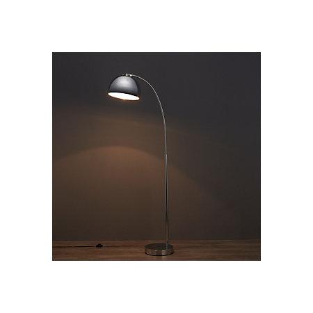 Fresh chrome effect floor lamp departments diy at bq 000 000 aloadofball Choice Image