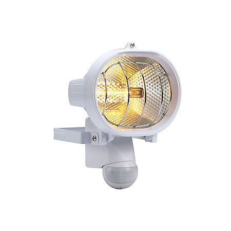 Bq polaris white 230w mains powered external pir security flood product notices aloadofball Images