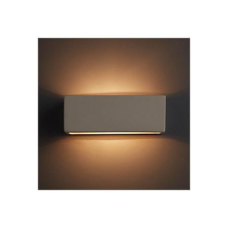 Melody white single wall light departments diy at bq 000 000 aloadofball Images