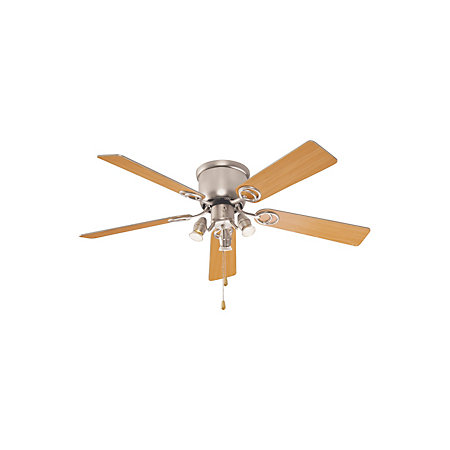 Austin brown stainless steel effect ceiling fan light 000 000 mozeypictures Gallery