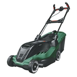 Image of Bosch Advanced 670 Ergoslide Corded Rotary Lawnmower