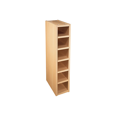 It kitchens beech effect wine rack cabinet w 150mm for Beech effect kitchen base units