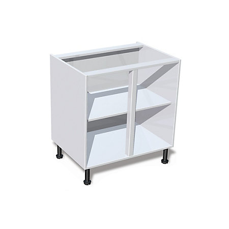 It kitchens white standard base cabinet w 800mm for Kitchen cabinets 800mm