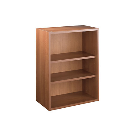 It kitchens walnut effect open wall cabinet w 500mm for Kitchen cabinets 500mm