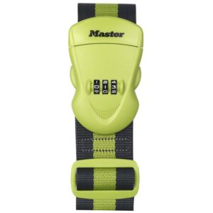 Master Lock Polyester 3 Digit Combination Luggage Strap (W)25mm