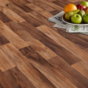 Arezzo Brown Vinyl Flooring Sheet 4m²