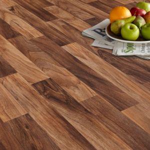 Arezzo Brown Vinyl Flooring Sheet 6m²