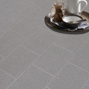 Monzen Grey Vinyl Flooring Sheet 6m²