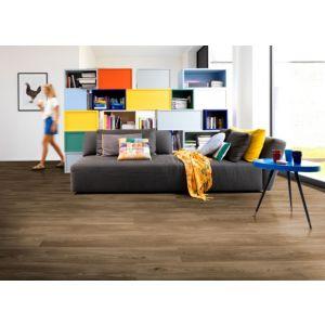 Dark Oak Effect Premium Luxury Vinyl Click Flooring  2.16m² Pack