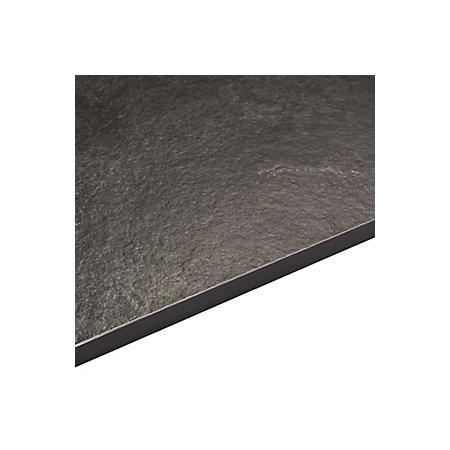 Exilis laminate zinc argente black stone effect for Zinc laminate