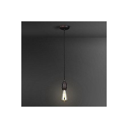 Bronze Effect Pendant Ceiling Light Departments Diy At B Q