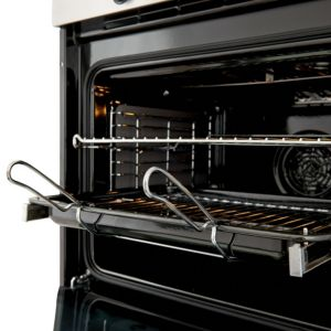 Cooke Lewis Clpyst Grey Electric Pyrolytic Single Oven