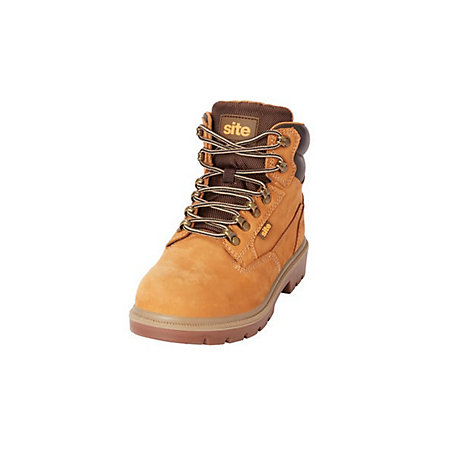 presenting crazy price incredible prices Site Skarn Women's Honey Safety boots, Size 7 | Departments | DIY at B&Q