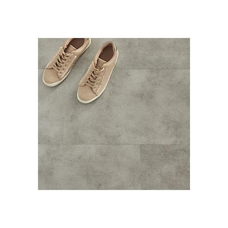 Goodhome Jazy Light Grey Tile Effect Click Flooring 2