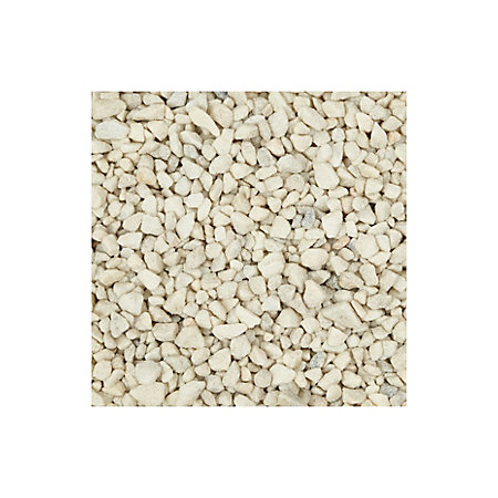 Blooma White Spar Decorative Stone 22500g Departments