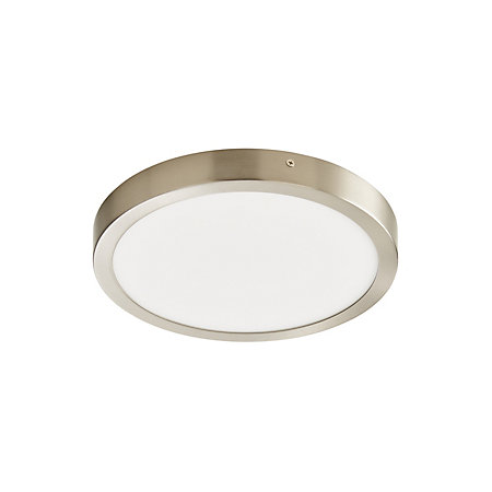 size 40 a3022 7d116 Aius Brushed Chrome effect Ceiling light | Departments | DIY at B&Q