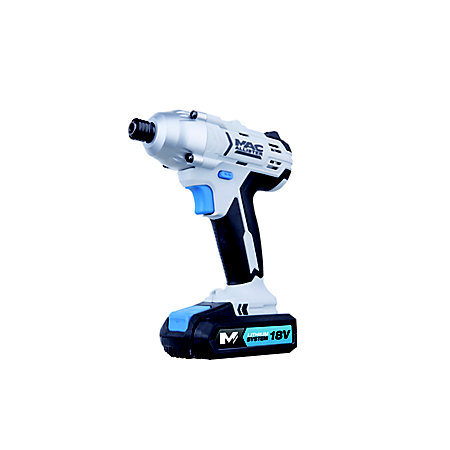 Mac Allister Cordless 18V 1 5Ah Lithium-ion Brushed Impact driver 2  batteries MSID18-Li | Departments | DIY at B&Q