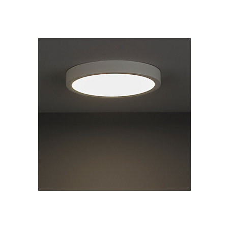 new arrival f418b bd9a9 Aius Brushed White Ceiling light | Departments | TradePoint