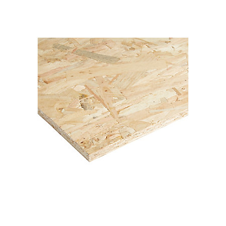 osb 3 board th 12mm w 1220mm l 2440mm departments tradepoint. Black Bedroom Furniture Sets. Home Design Ideas