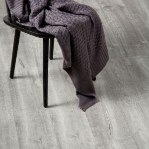 Image of Aberfeldy Grey Oak effect Laminate flooring Sample