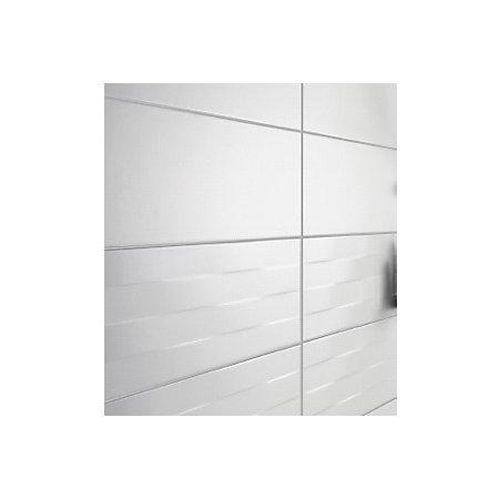 Brindisie White Satin Ceramic Wall Tile Pack Of 12 L 500mm W 250mm Departments Diy At B Q