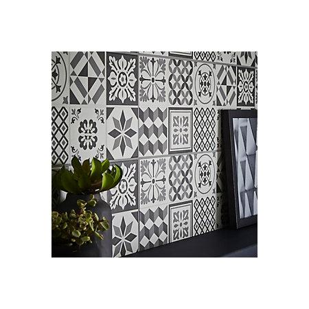 Konkrete Grey Matt Ceramic Wall Tile Pack Of 14 L 500mm W 200mm Departments Diy At B Q