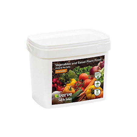 Verve Salad Vegetables Plant Feed Granules 5kg Departments Diy At B Q