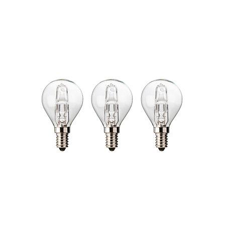 Diall E14 30w Mini Globe Halogen Dimmable Light Bulb Pack