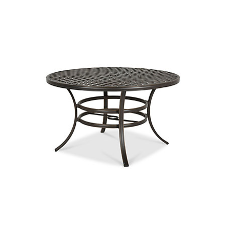 Ripley Metal 6 Seater Dining Table Image 4 000