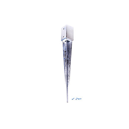 Blooma Steel Fence post support spike (L)90mm (W)90mm | Departments | DIY  at B&Q