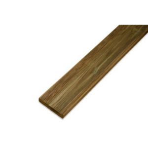Image of Blooma Nevou Premium UC4 Softwood Deck board (T)27mm (W)144mm (L)2400mm
