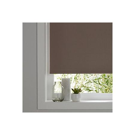 colours boreas corded light brown blackout roller blind l. Black Bedroom Furniture Sets. Home Design Ideas