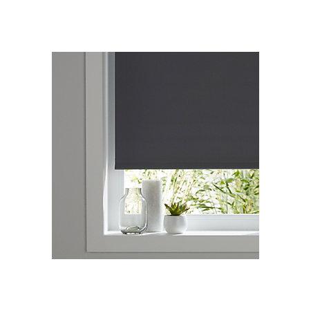 colours boreas corded grey blackout roller blind l 180 cm. Black Bedroom Furniture Sets. Home Design Ideas