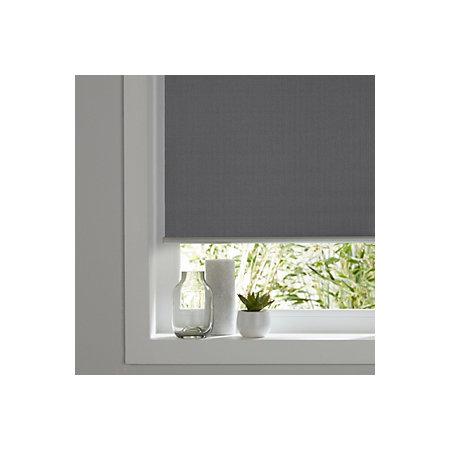 colours ilas corded grey blackout roller blind l 180 cm. Black Bedroom Furniture Sets. Home Design Ideas