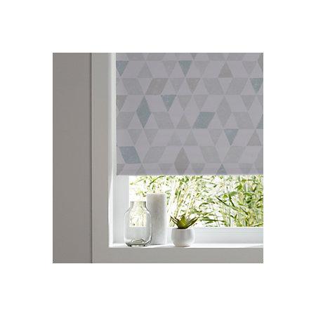 colours boreas corded blue white blackout roller blind. Black Bedroom Furniture Sets. Home Design Ideas