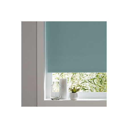 colours boreas corded green blackout roller blind l 180. Black Bedroom Furniture Sets. Home Design Ideas