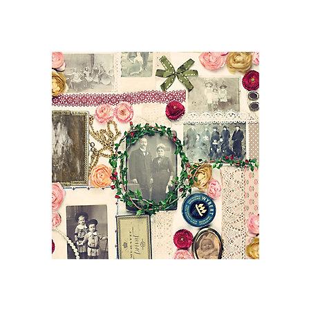 D C Fix Bellville Collage Vintage Multicolour Self