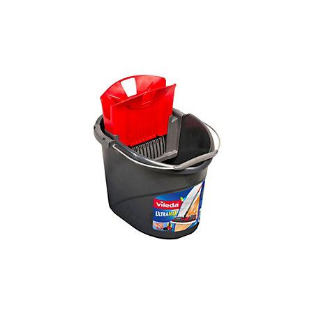 Vileda Grey Amp Red Ultramax Mop Bucket Amp Wringer