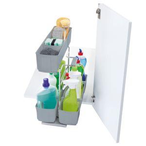 Kesseböhmer Base Cabinet Cleaning Agent Storage  300mm