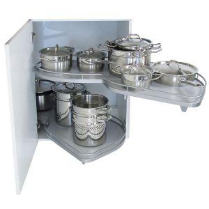 Kesseböhmer RH Lemans Corner Cabinet Storage  800mm