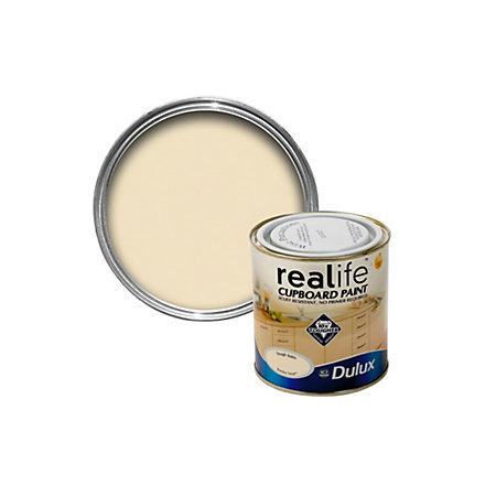 Dulux Realife Cream Satin Cupboard Paint 600 ml