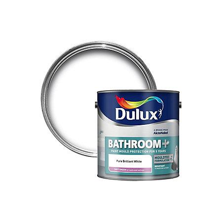 Click Collect Dulux Dulux Bathroom Soft Sheen Paint Pure Brilliant White