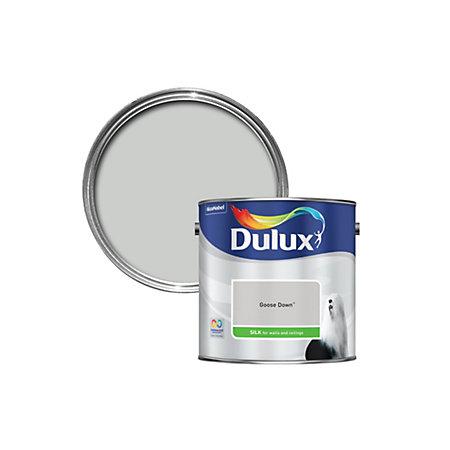 dulux goose down silk emulsion paint 2 5l departments. Black Bedroom Furniture Sets. Home Design Ideas