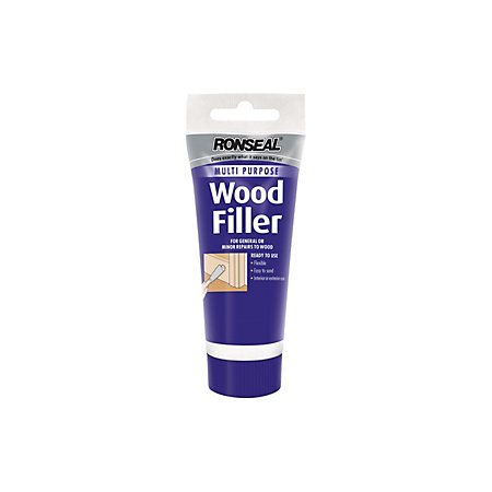 Ronseal Medium Wood Filler 100g Departments Diy At B Amp Q