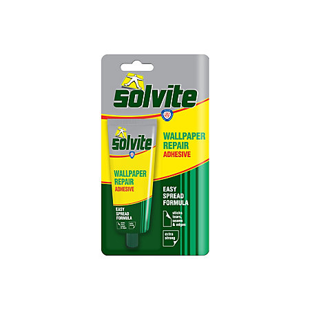 Solvite Ready To Use Wallpaper Repair Adhesive 100 G Departments Diy At B Q