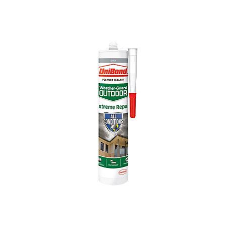 Unibond Extreme Repair Grey Outdoor Sealant 300 Ml