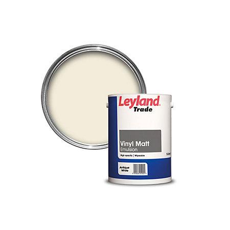 Leyland Wood Paint White Matt