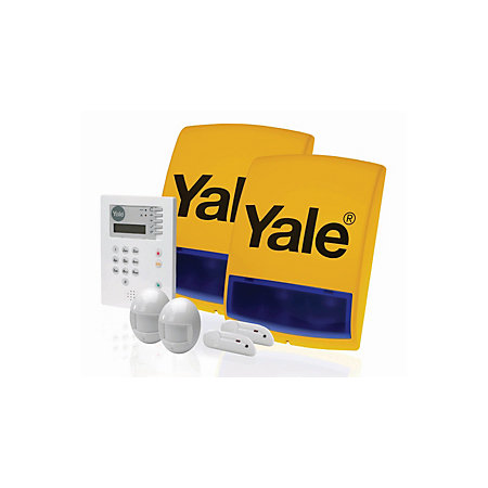 yale wireless alarm kit departments diy at b q. Black Bedroom Furniture Sets. Home Design Ideas